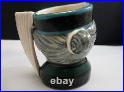 Royal Doulton 1958 Toby Mug The Mikado D #6525 2 1/2 H England Rare Find