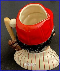 Royal Doulton 4 Toby Character Jug Phillies Baseball Player D6957 1993 Ltd 2500