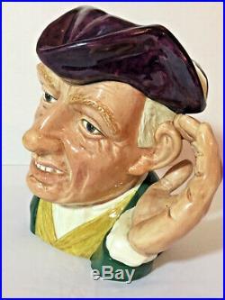 Royal Doulton'ARD OF'EARING Character Jug D6588 / Biggs c. 1963 Museum Quality