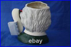 Royal Doulton Albert Einstein D7023 Large Character Jug