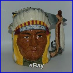 Royal Doulton Antagonists 2 sided character jug Gen Custer Sitting Bull D6712