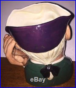 Royal Doulton Ard of Earing D6588 Large Size Character Jug Very Rare Mint
