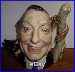 Royal Doulton Artist Peggy Davies Dr Deitz Character Large Character Jug LE 100