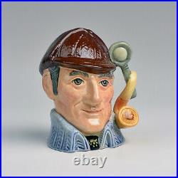 Royal Doulton BLUE SLEUTH Small Character Jug