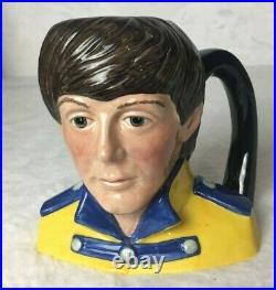 Royal Doulton Beatles Paul McCartney 1984 Toby Character Jug # 6724
