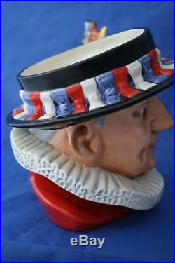 Royal Doulton Beefeater D7299 Ltd Ed Character Jug Of The Year 2010