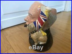 Royal Doulton CHARACTER JUG Winston Churchill