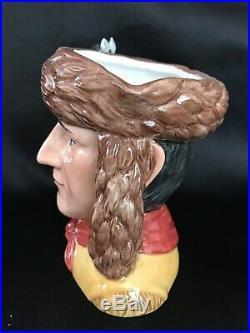 Royal Doulton CHARACTER JUGMERIWETHER LEWIS & WILLIAM CLARK #0411/1000 COA 5