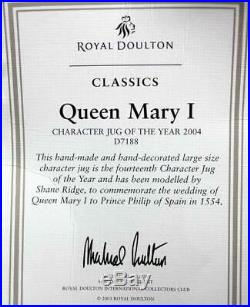 Royal Doulton CHARACTER JUGS Queen Mary CHARACTER MUG OF THE YEAR GREAT COND