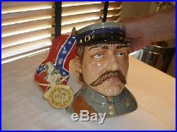 Royal Doulton CIVIL War Character Jug/mug D7266 Mint Condition #31 Of 350 Made