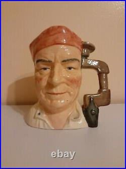 Royal Doulton Cabinet Maker D7010, Large Character Jug, 1995, Special Edition