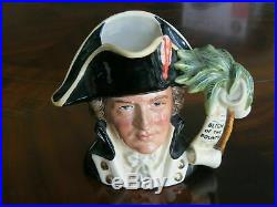 Royal Doulton Captain Bligh D6967 Character Jug of the Year 1995 Mint Condition