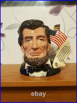 Royal Doulton Character Jug Abraham Lincoln