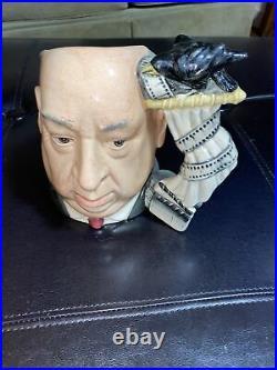 Royal Doulton Character Jug Alfred Hitchcock D 6987