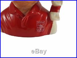 Royal Doulton Character Jug'Arsenal' Football Supporters