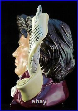 Royal Doulton Character Jug Beethoven D7021