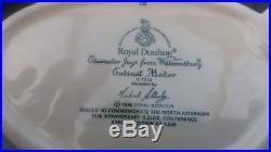 Royal Doulton Character Jug Cabinet Maker Large D7010 15th Anniversary RDICC