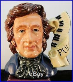 Royal Doulton Character Jug Chopin D7030