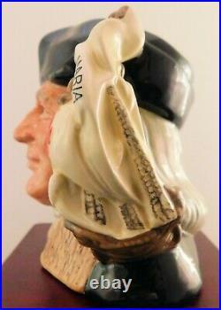 Royal Doulton Character Jug Christopher Columbus D6911