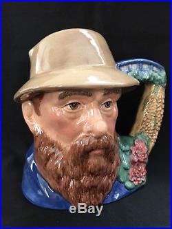 Royal Doulton Character Jug- Claude Monet-Famous Artist