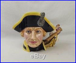 Royal Doulton Character Jug D7236 Lord Horatio Nelson 2004