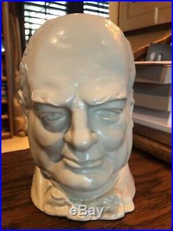 Royal Doulton Character Jug Double Handled Churchill