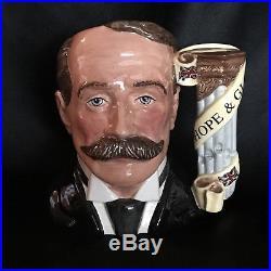 Royal Doulton Character Jug-Elgar/RARE-Great Composer Series/Classical Music