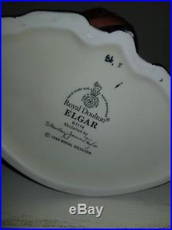 Royal Doulton Character Jug Elgar Rare And Mint