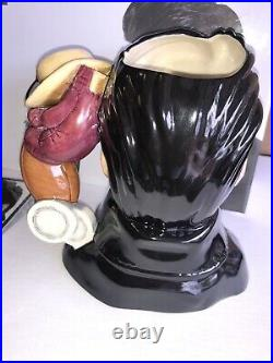 Royal Doulton Character Jug Elvis Stand Up EP5 Mint In Box Old store Stock
