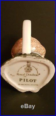 Royal Doulton Character Jug Ena Sharples, Rare Prototype Pilot Miniature Jug