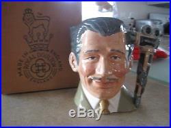 Royal Doulton Character Jug Entitled Clark Gable D6709, Large