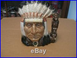 Royal Doulton Character Jug Entitled North American Indian, D6611, Okoboji Ed
