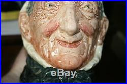 Royal Doulton Character Jug Entitled Toothless Granny, Sty1, D5521