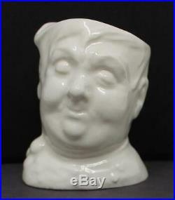 Royal Doulton Character Jug Fat Boy White Toothpick Holder Rare Prototype