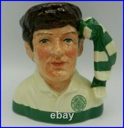 Royal Doulton Character Jug Football Supporter GLASGOW CELTIC FC D6925