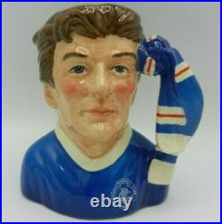 Royal Doulton Character Jug Football Supporter GLASGOW RANGERS FC D6929
