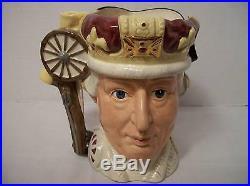 Royal Doulton Character Jug G. III/G. Washington D6749