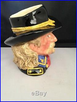 Royal Doulton Character Jug General Custer D7079 WithOrig. Box Excellent Cond