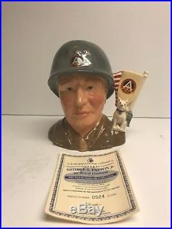 Royal Doulton Character Jug General Patton