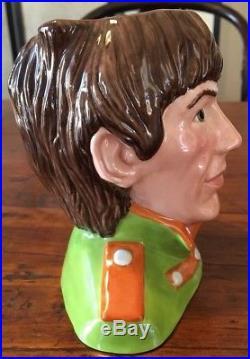 Royal Doulton Character Jug George Harrison D6727 MID 5.5 1984-91