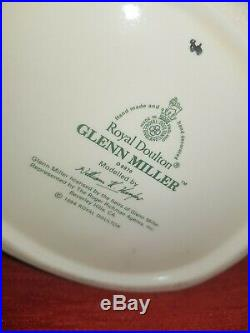 Royal Doulton Character Jug Glenn Miller D6970 Rare Beverly Hills B/S