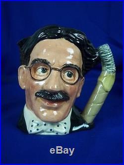 Royal Doulton Character Jug Groucho Marx D6710