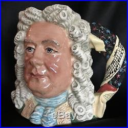 Royal Doulton Character Jug-Handel/Great Composer Series/Classical Music