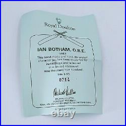 Royal Doulton Character Jug IAN BOTHAM. Limited Edition. Rare. PO RD6-15