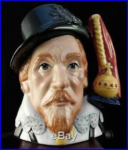 Royal Doulton Character Jug James I D7181