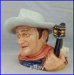 Royal Doulton Character Jug John Wayne D7269 Large Jug of the Year 2007 Boxed