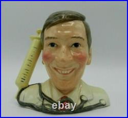Royal Doulton Character Jug KENNETH WILLIAMS as Dr TINKLE D7173