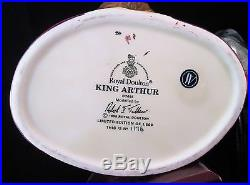 Royal Doulton Character Jug King Arthur D7055