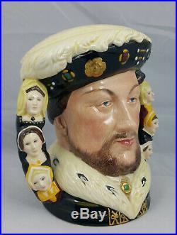 Royal Doulton Character Jug King Henry VIII D6888 Double Handle Large Ltd Ed