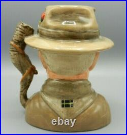 Royal Doulton Character Jug LORD BADEN POWELL Founder of the Scouts D7144